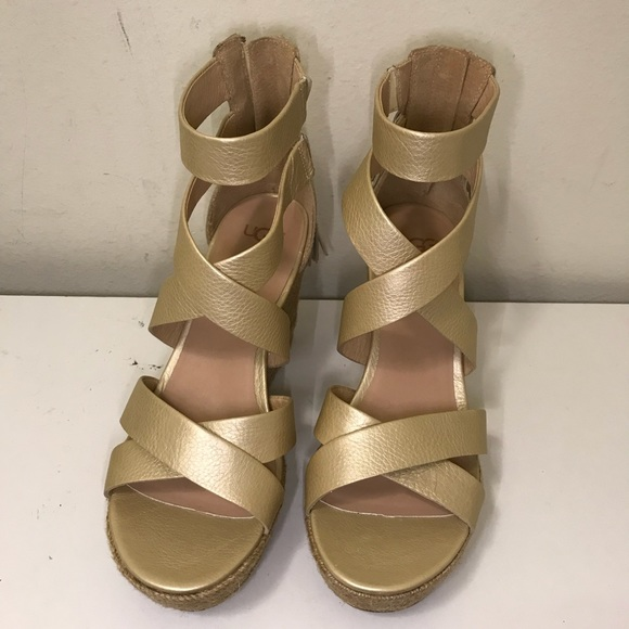 3a90b515c2ee1 Ugg Women s Raquel platform sandals NEW